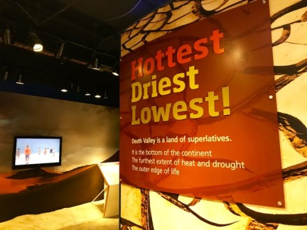 Hottest, driest, and lowest