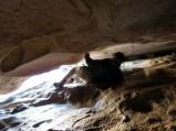 Exiting Cave Kiva