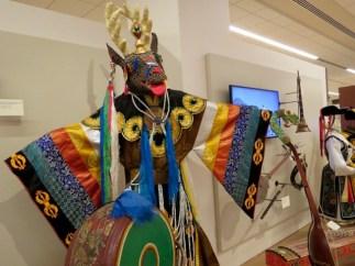 Mongolian deer costume