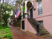 Historic Savannah homes