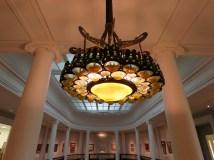 Unusual Tiffany chandelier