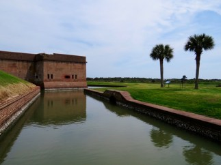 Fort Pulaski, a Civil War era fort