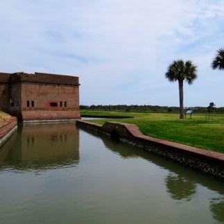 Fort Pulaski, a Civil War era fort