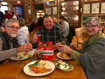 Fun and delicious dinner at Maumee Bay Brewing with Ed and Diana