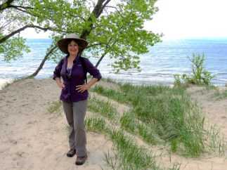On the shores of Lake Michigan