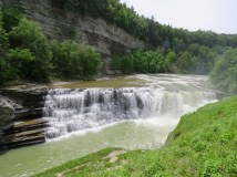 Lower Falls at Letchworth State Park