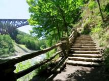 Trail near Upper Falls