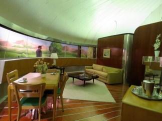 Buckminster Fuller's Dymaxion House, built of aluminum