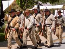 Civil War reenactors