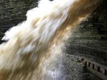 Cascade Falls after a torrential rainstorm
