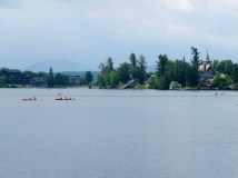 Mirror Lake, with a wonderful walking trail around the lake