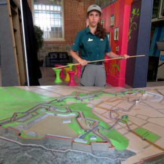 Explaining the Fortifications of Quebec City