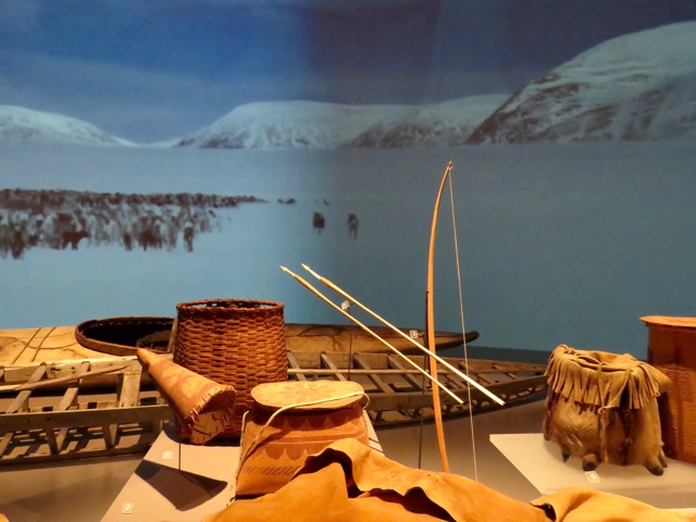 Excellent exhibits of First Nations tribes