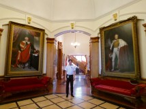 Touring the Fredericton Parliament Building
