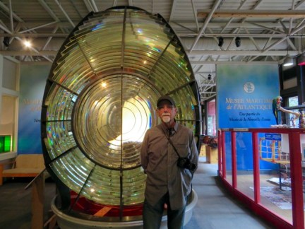 First order Fresnel lens at the Maritime Museum of the Atlantic