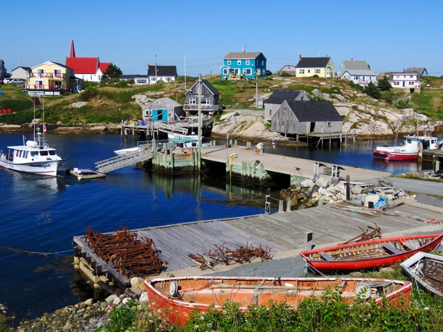 Colorful Peggy's Cove