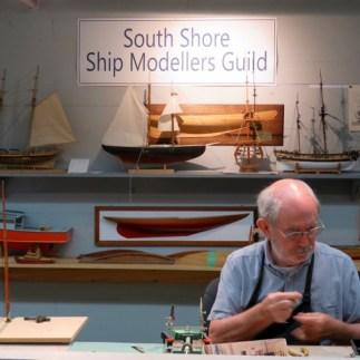 Model ship craftsman