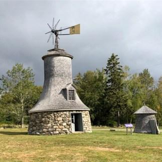 Gas powered windmill