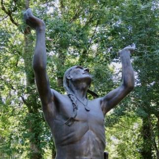 """Oh Great Spirit"" bronze"