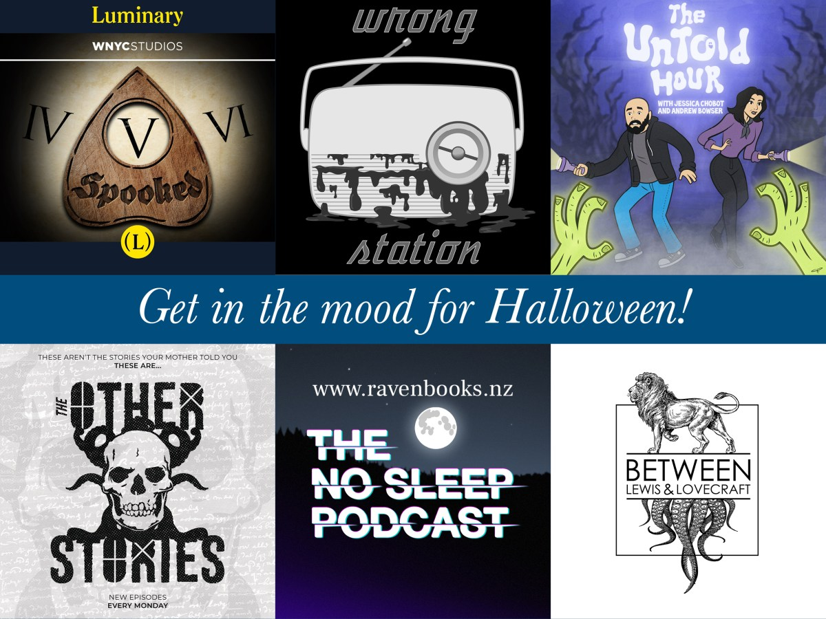 6 spooky podcasts