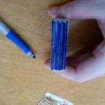 A = Blue