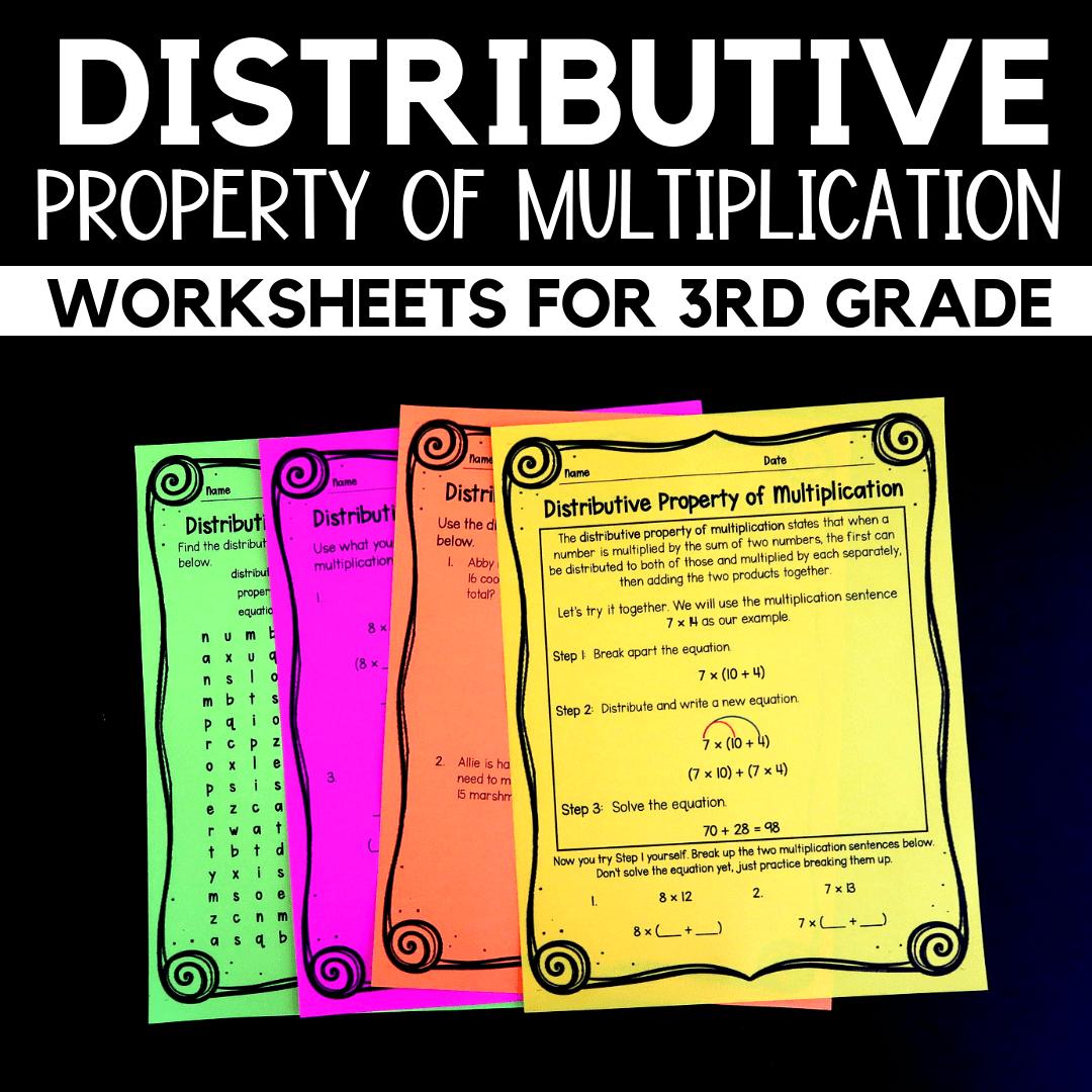 hight resolution of Properties of Multiplication Worksheets for 3rd Grade - Raven Cruz