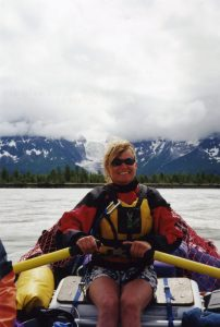 Rowing the mighty Alsek River