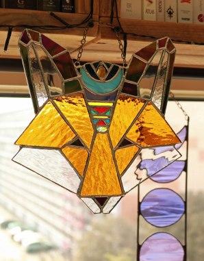 (Sold: Texas, USA) Geometric Boho Fox