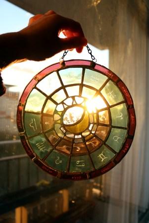 Astrology wheel