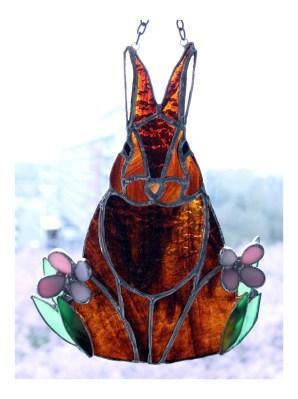 Easter Spring suncatcher rabbit