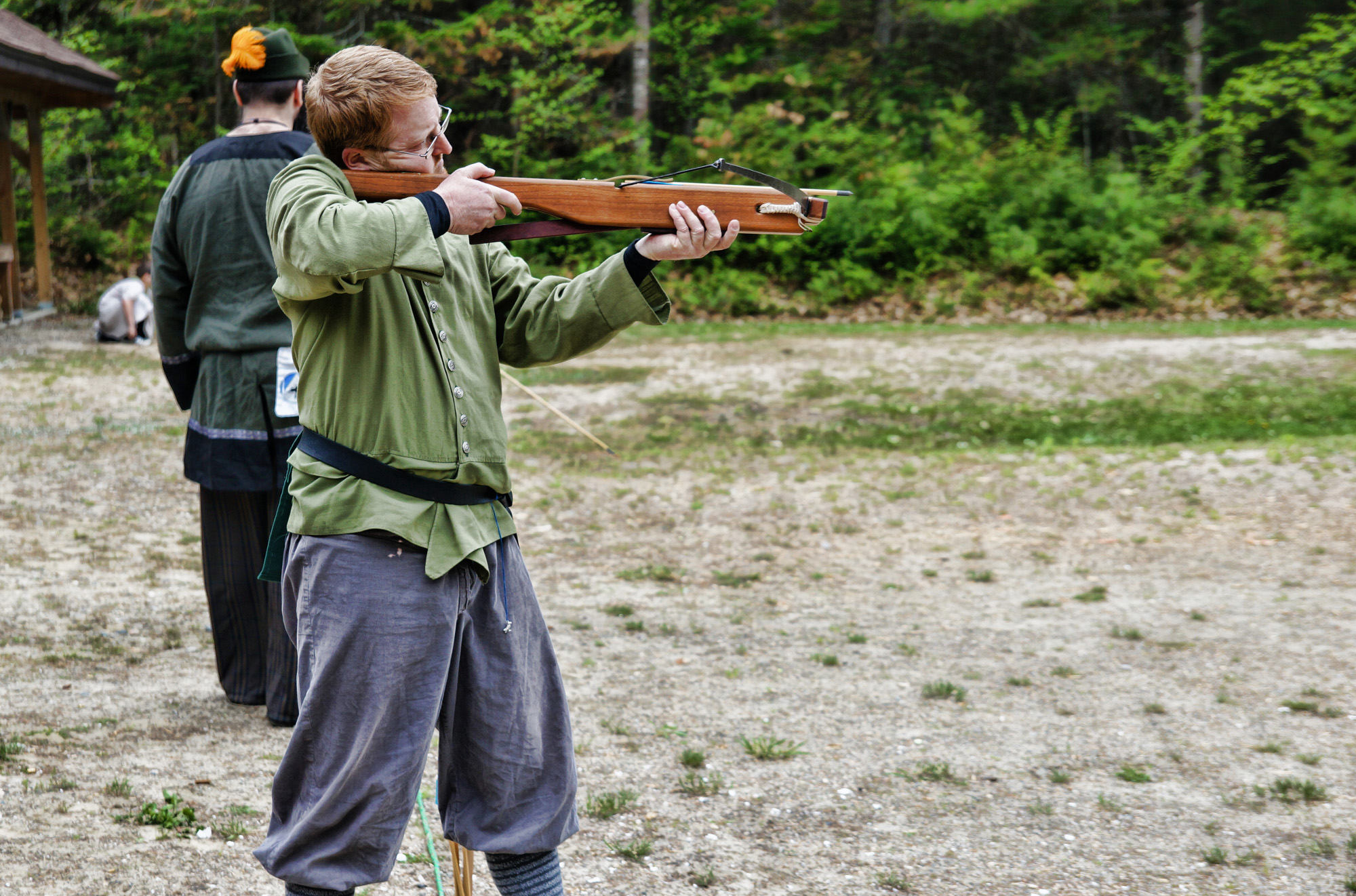 Archery, crossbow shooting