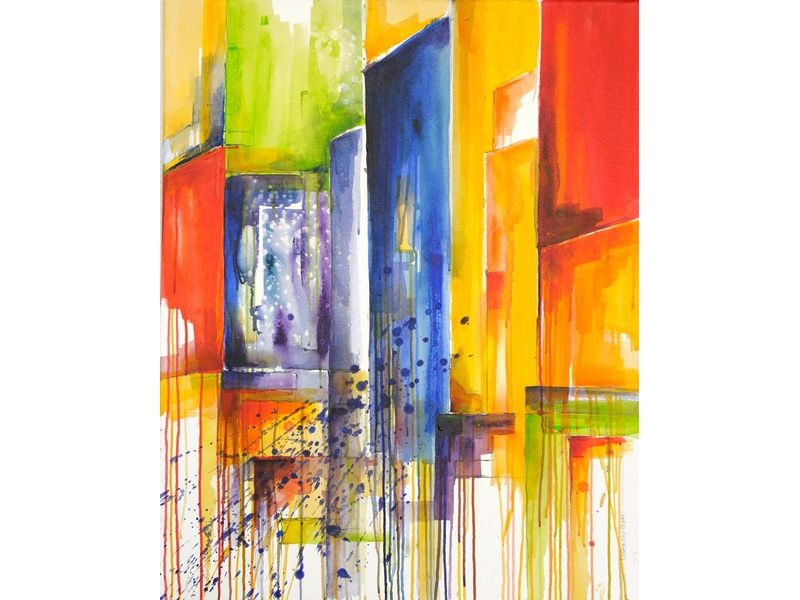 Christine Kostelezky: Colored Started Times Square 2