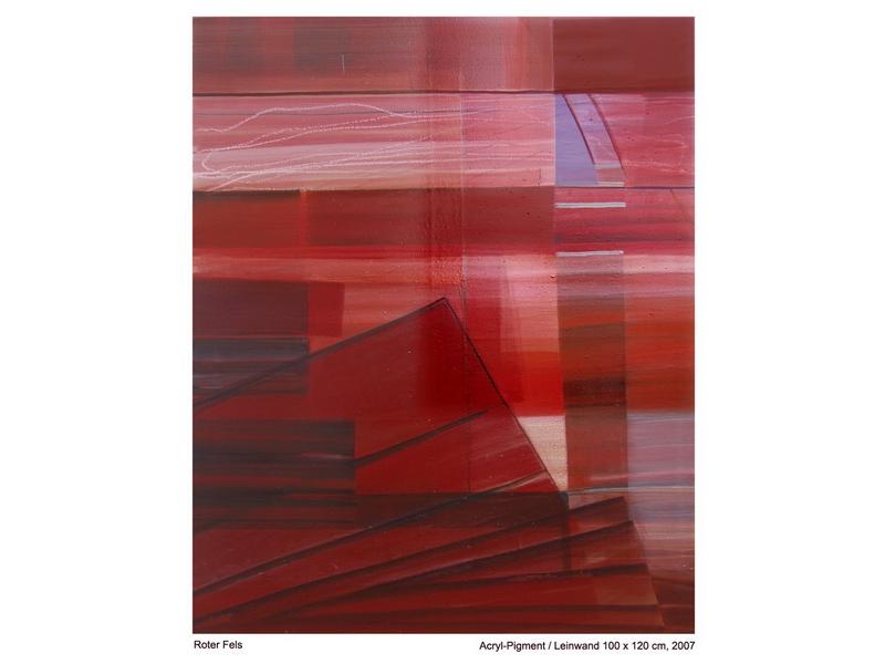 Wolfgang Schmidberger: Roter Fels