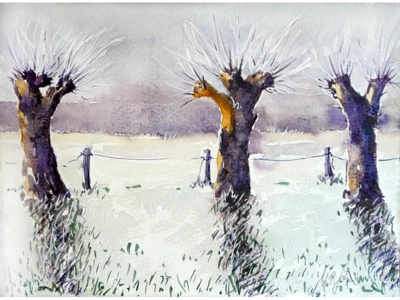 Aquarell: Hans Peter Götze