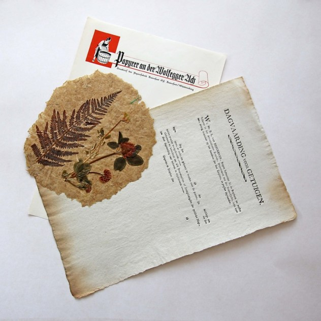 Papiere: Egon Woblick