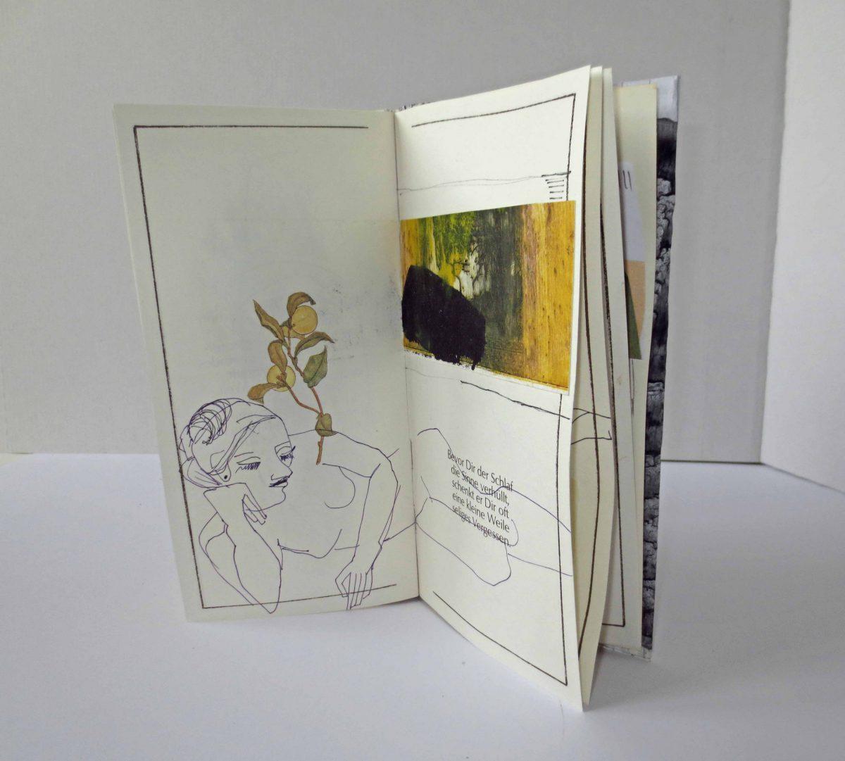 Anne Messmer-Steinman: Kunstbuch DEIN GLÜCK Seite 2