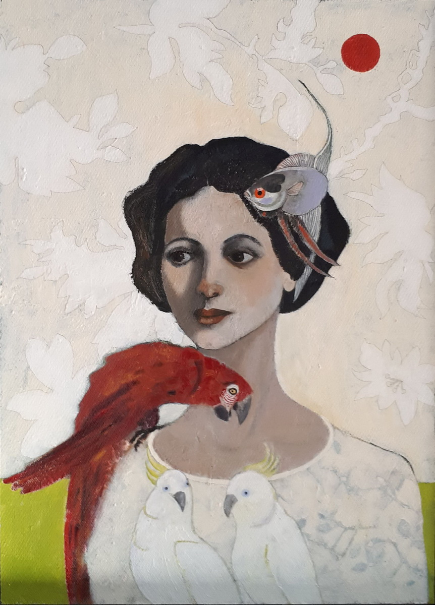 Elisabeth Hölz Die Papageienfrau