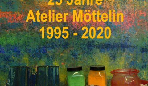 Kalenderdeckblatt 25 Jahre Atelier Möttelin
