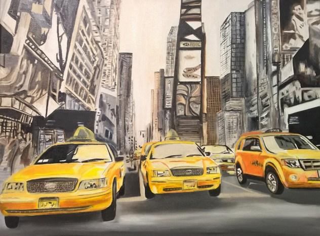 Carmen Bihler - Times Square