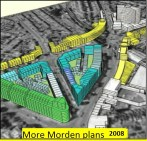 3d view of More Morden plans 2008