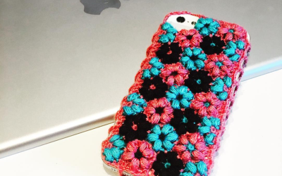 Crocheted Phone Cover