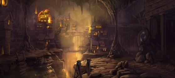 Elven City Landscape TRAVIS LACEY