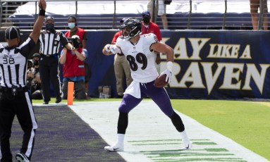 Baltimore Ravens highlights: Mark Andrews catches 1st TD of 2020