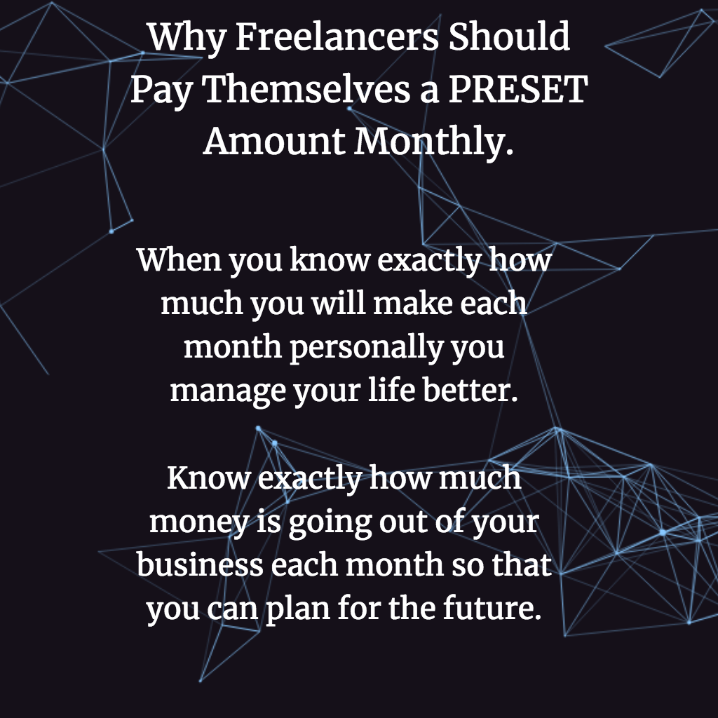 hight resolution of pay yourself a pre set amount as a freelancer