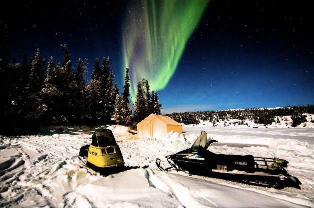 Aurora, Northern Lights, Yellowknife, Canada