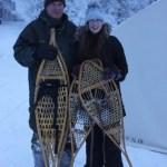 Snowshoeing, Snow, Winter, Yellowknife, Raven Tours