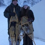 Snowshoeing, Snow, Winter, Yellowknife, Raven Tours