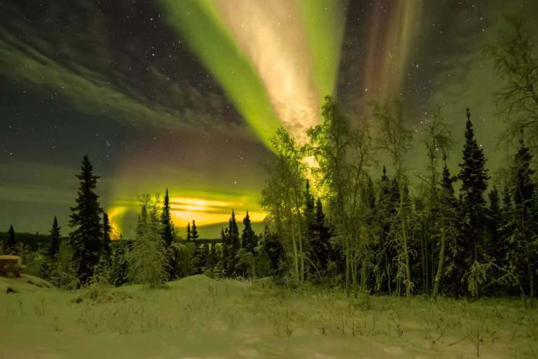 Aurora Viewing on a Cloudy Night