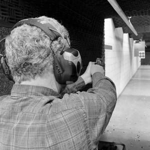 pistol, range