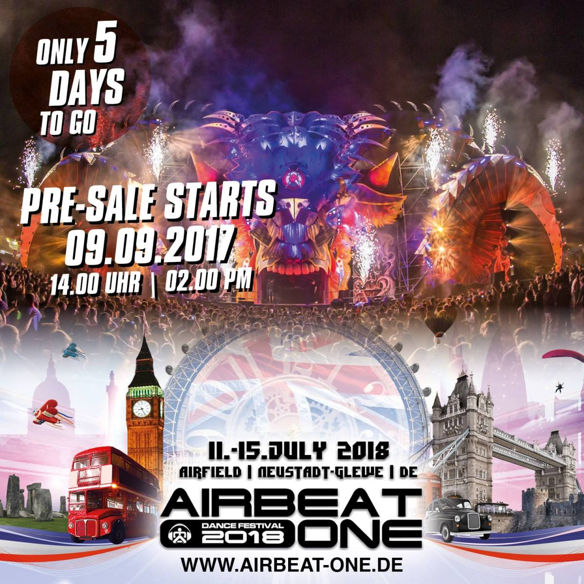 Airbeat-One 2018_Ticketsale Image